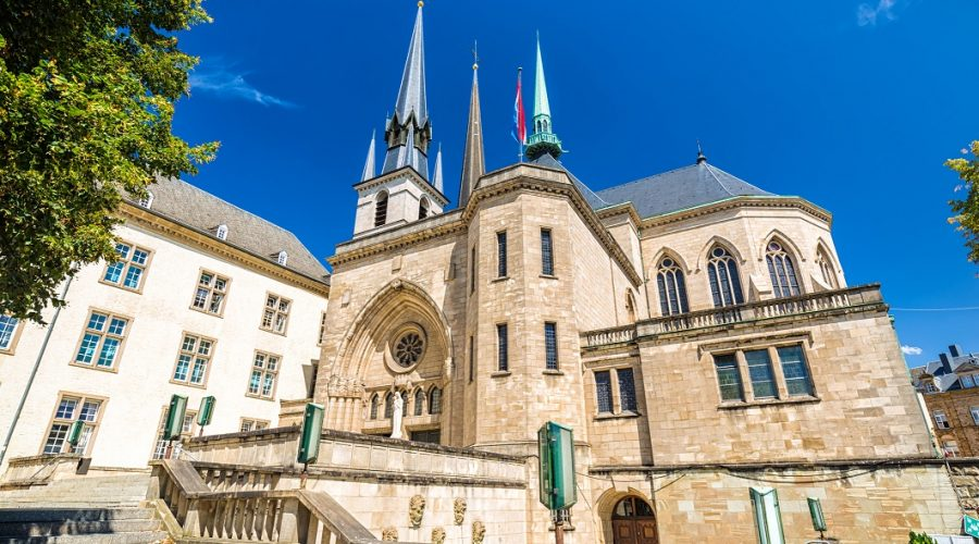 Cathedral in Luxembourg